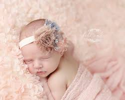 baby girl headband baby girl headband newborn headband baby headband gray