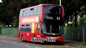 numbers 1 100 english london buses youtube