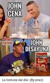 Memes De John Cena - john cena y desayuna v wiki momazos amino