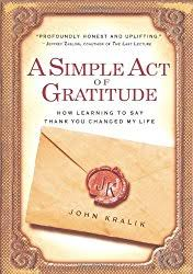 read a simple act of gratitude to be inspired to write thank you notes