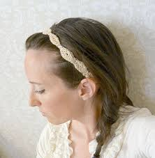 crochet hairband provence gold fleck headband crochet headband pattern in