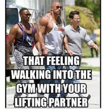 Gym Buddies Meme - gym buddy liftingpartner twitter