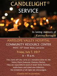 candlelight service friday for stabbed to in lancaster
