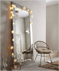 Home Interior Led Lights by Bathroom Fascinating Mirror With Lights Around It For Home