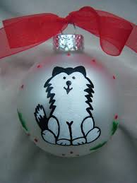 image result for husky paper ornament ornament