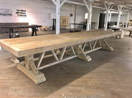 Large Trestle Dining Table Dining Room Ideas