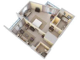 3d floor plans hilton barbados resort