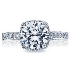 tacori halo engagement rings tacori halo 18k white gold engagement ring 2620rdlgp