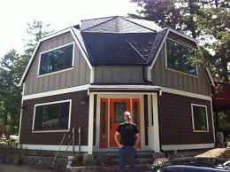 geodome house me in front of my fully restored 3 story geodesic dome home