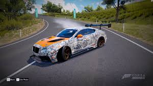 bentley orange forza horizon 3 livery for bentley continental gt imgur