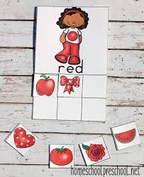 printable color sorting mats and cards for preschoolers sorting
