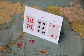 happy 18th birthday u201d greeting card mini playing cards fracas