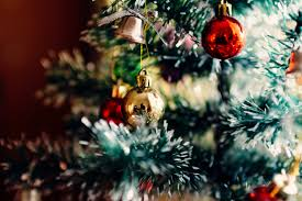 free stock photo of close up of christmas tree ornaments public