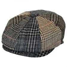 Patchwork Cap - patchwork newsboy cap at hat shop