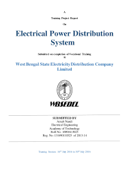 electrical power distribution system arnabnandi wbsedcl