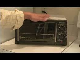 Can Toaster Oven Be Used For Baking Using Household Electronics Using A Toaster Oven Youtube