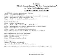 ppt mobile computing and wireless communications u2013 short
