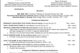 nicu nurse resume sample icu resume sample reentrycorps