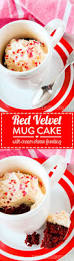 red velvet mug cake with cream cheese frosting recipe
