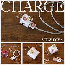 diy phone charger diy phone charger with sparkle