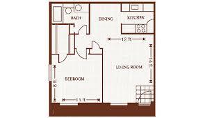 large one bedroom floor plans floorplans carriage park apartments victoria texas