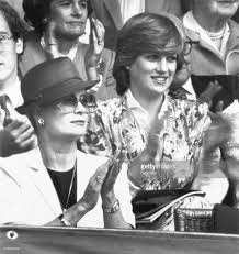 princess grace and lady diana spencer applauding pictures getty