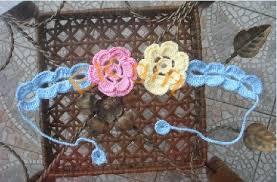 crochet hair bands hair band crochet handicraft headband hair band id 6767647