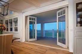 Patio Door Design Decor Modern Clear Glass Bifold Doors For Cool Patio Door Design