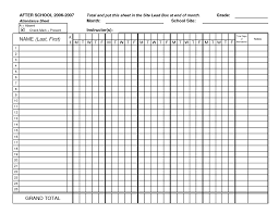 Work Spreadsheet Template Work Attendance Sheet Sample Of Social Worker Resume Free Excel