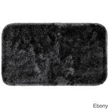 Black Bathroom Rug Black Bath Rugs Bath Mats For Less Overstock