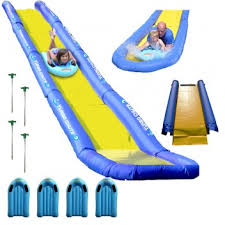 turbo chute backyard water slide package rave sports