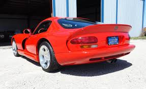 Red Paint by 2000 Dodge Viper Gts Coupe In Red Paint My Car Story With Lou