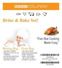 turkey brining bag xl brining bag oven bag combo for turkey liquidsolutions