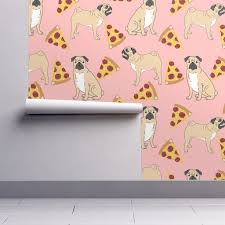 pug pizza pink dog food pugs dogs pet pets pet friendly funny
