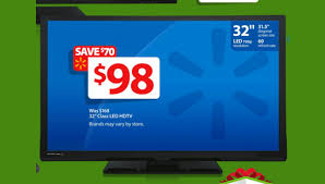 32 inch led tv is doorbuster in walmart black friday 2014 ad