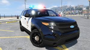 cars ford explorer lapd 2014 ford explorer police interceptor utility gta5 mods com