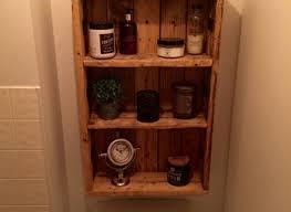 rustic medicine cabinet repurposed pallet wood bathroom ideas