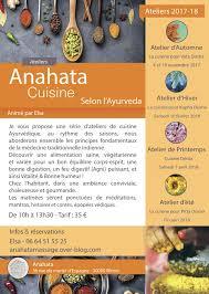 cours de cuisine nimes anahata cuisine cours de cuisine ayurvédique nimes