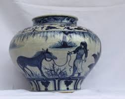 Ming Dynasty Vase Value Antique Chinese Blue And White Porcelain Kendi Early Qing
