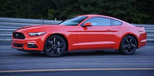 review of 2015 ford mustang 2015 ford mustang 2 3l turbo ecoboost gets positive review from
