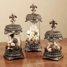 fleur de lis canisters for the kitchen fleur de lis decorative jar set