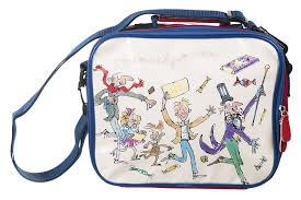roald dahl charlie and the chocolate factory lunch bag amazon co