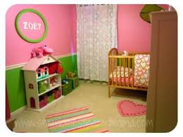 Pink And Green Nursery Decor This Pink And Green Baby Nursery Was Decorated For 150