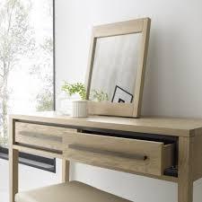 Oak Vanity Table Rimini Dressing Table