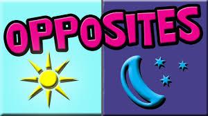 opposites for kids opposite words opposite words in english