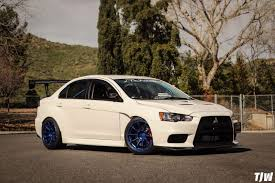 widebody evo team hybrid u0027s widebody mitsubishi evo x ambit rt8 18x10 5 15