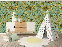 floral peel and stick wallpaper adhesive vinyl wallpaper