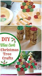 wine cork christmas tree craft pinkwhen