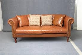 Cheap New Leather Sofas Selling Factory Cheap New Style Leather Sofa With Footrest