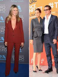 aniston mariage aniston on brad pitt marriage not wrong to with